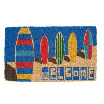 Surf Boards Coconut Fiber Doormat