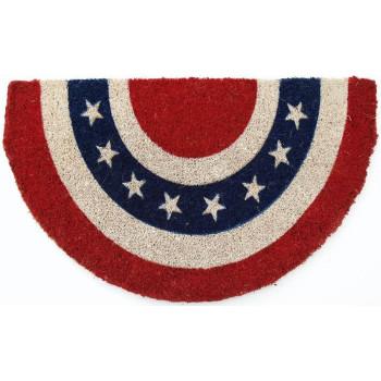 Americana Hand Woven Coconut Fiber Doormat