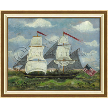 The Mary Framed Ship Art