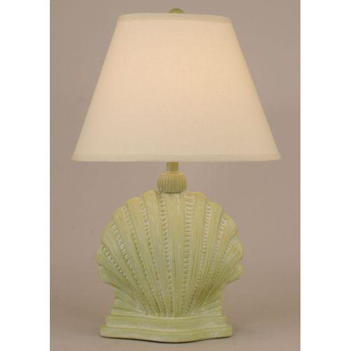 Coastal Lamp Mini Scallop Shell - Lime Wash