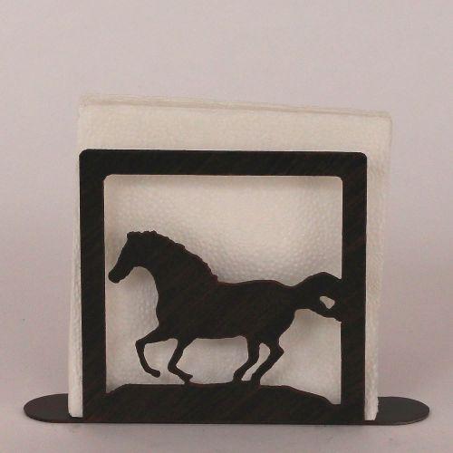 Coastal lamp iron running horse napkin holder - Coastal napkin holder ...
