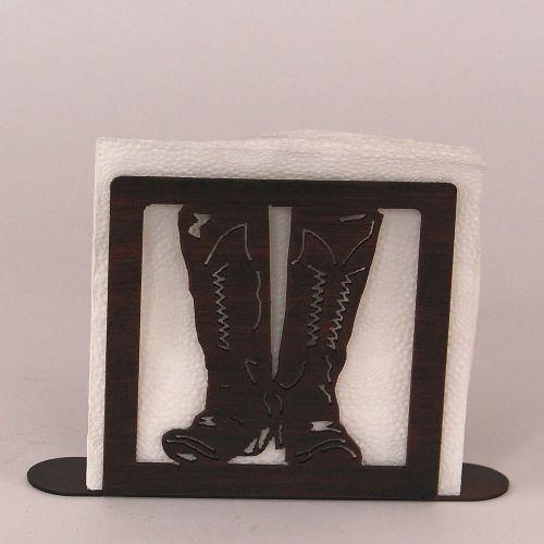 Coastal lamp iron boot napkin holder - Coastal napkin holder ...
