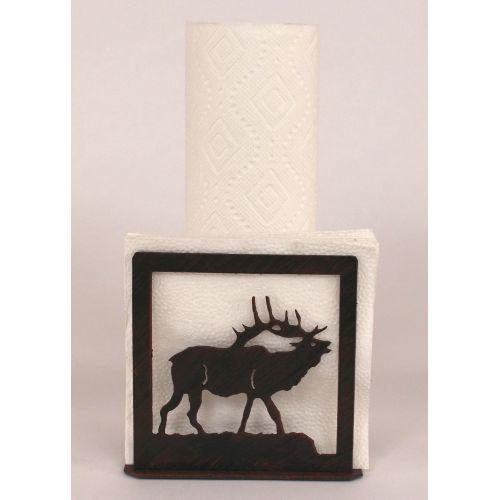 Coastal lamp iron elk short paper towel napkin holder - Coastal napkin holder ...