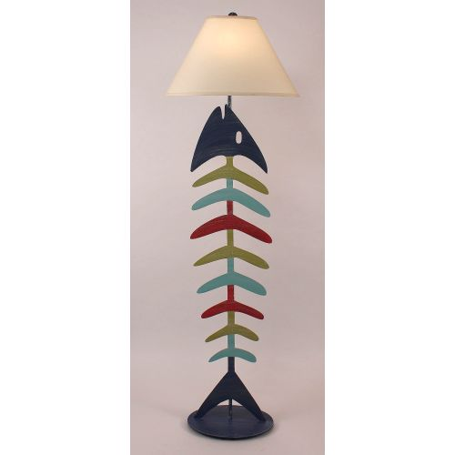 Coastal Lamp Bonefish Floor Lamp