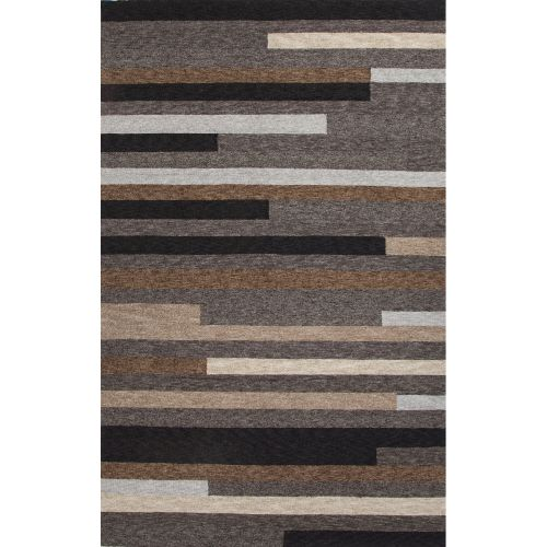 Jaipur Indoor Outdoor Abstract Pattern Gray Brown