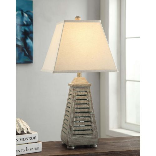 Crestview collection shutter tower table lamp shutter tower table lamp aloadofball Images