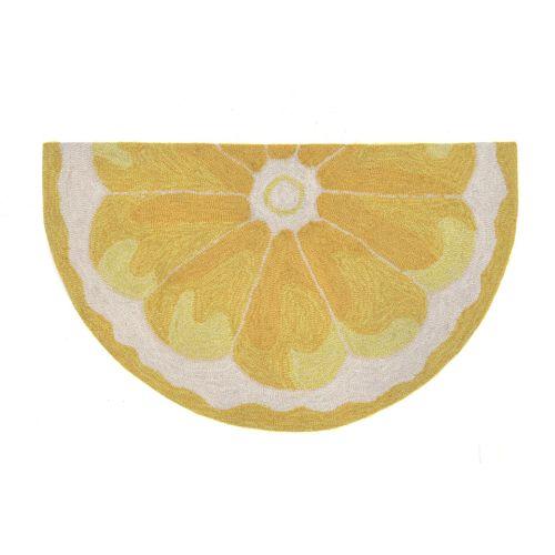 Lemon Kitchen Decor At Target: Trans-Ocean Liora Manne Frontporch Lemon Slice Indoor