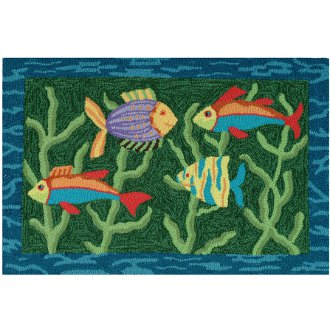 Fish bath rugs rugs sale for Fish bath rug