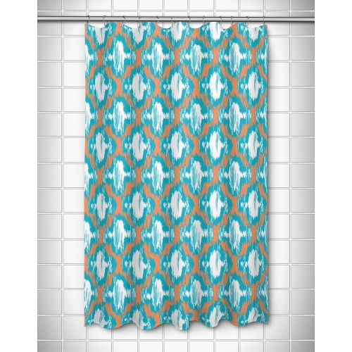 Island Girl Boca Chica - Moroccan Shower Curtain