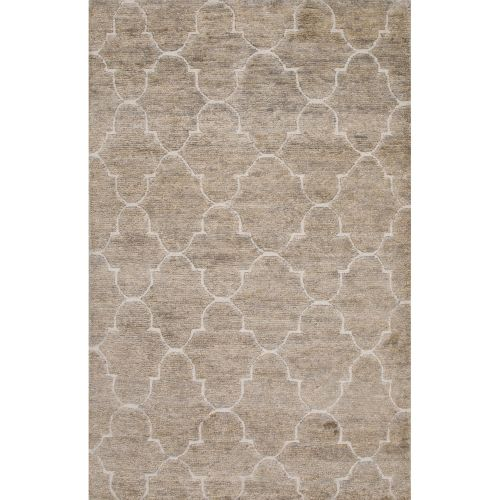 beach area rugs jaipur naturals trellis chain and tile pattern gray ivory 1518