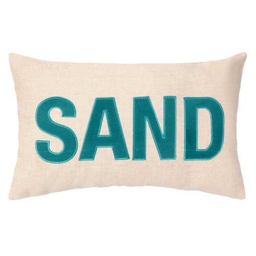 Sand Embroidered Pillow