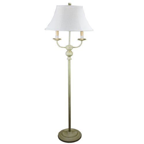 Bayfield Taupe Table Lamp Tan Linen Shade