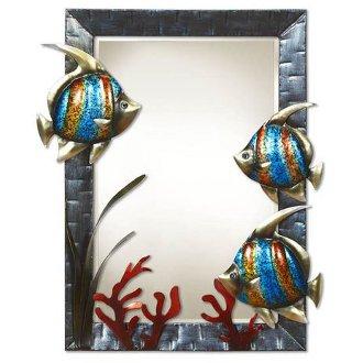 Large Wall Mirror Fish