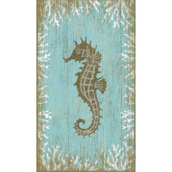 Seahorse Left Wall Art