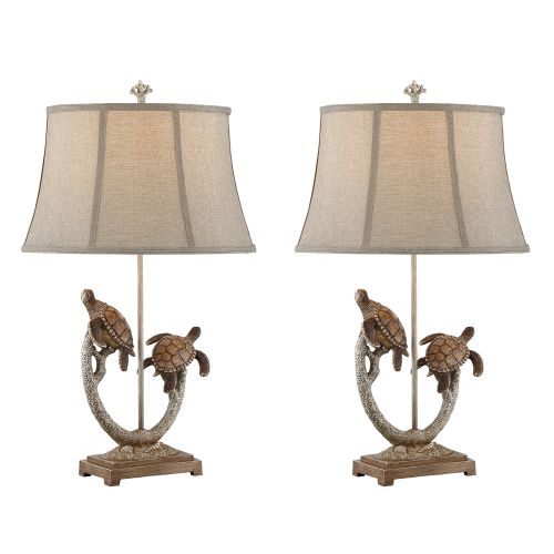 Twin turtle branch table lamp set of 2 best seller twin turtle branch table lamp set of 2 aloadofball Choice Image
