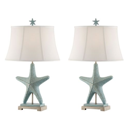 Delicieux Starfish Table Lamp (Set Of 2)