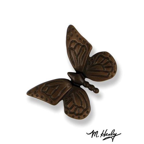 Monarch Butterfly Doorbell Ringer, Oiled Bronze