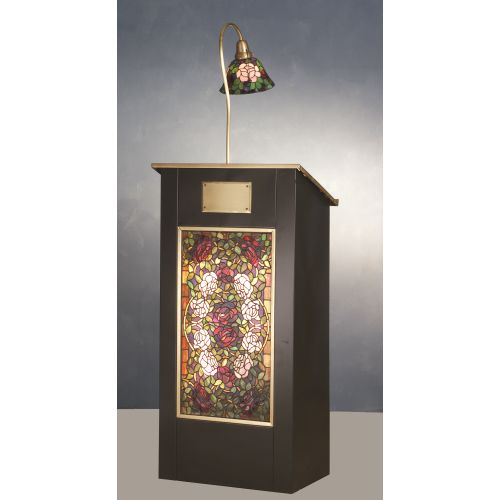meyda lighting 68 h rosebush lighted podium ships free. Black Bedroom Furniture Sets. Home Design Ideas