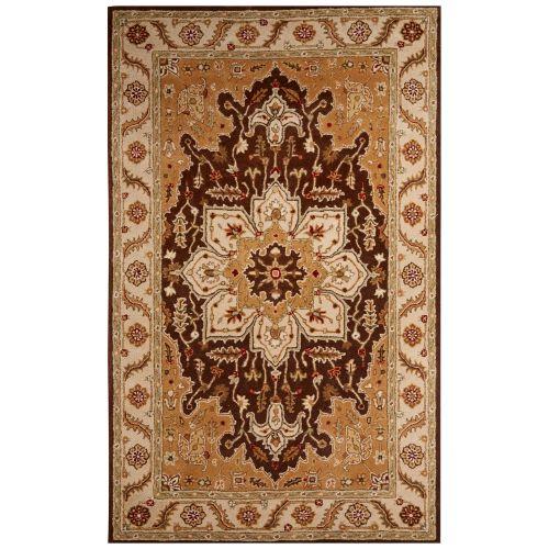 Area Rug Persian 9x12 Oriental Carpet Ivory Wool: Jaipur Classic Oriental Pattern Beige/Taupe Wool Area Rug