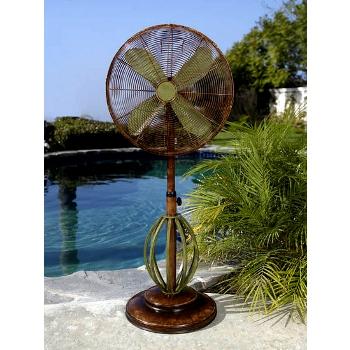 Playa 19 inch Deco Adjustable Outdoor Standing Fan
