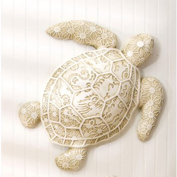 Resin Turtle Wall Decorlarge