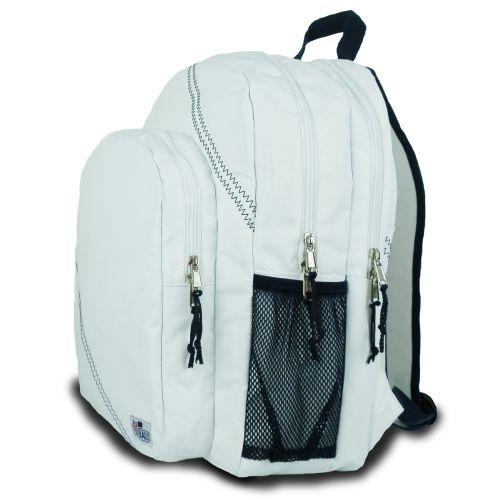 Chesapeake Backpack - White And Blue