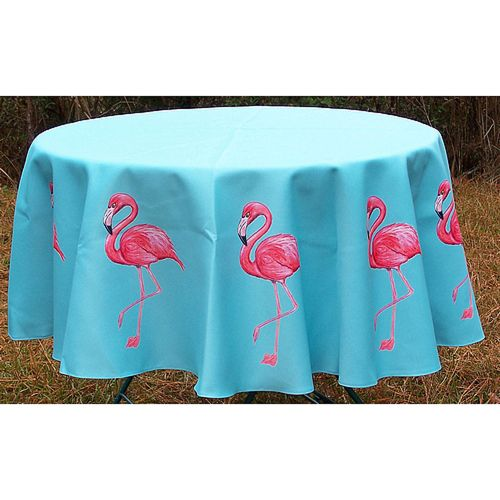 Flamingo Round Table Cloth