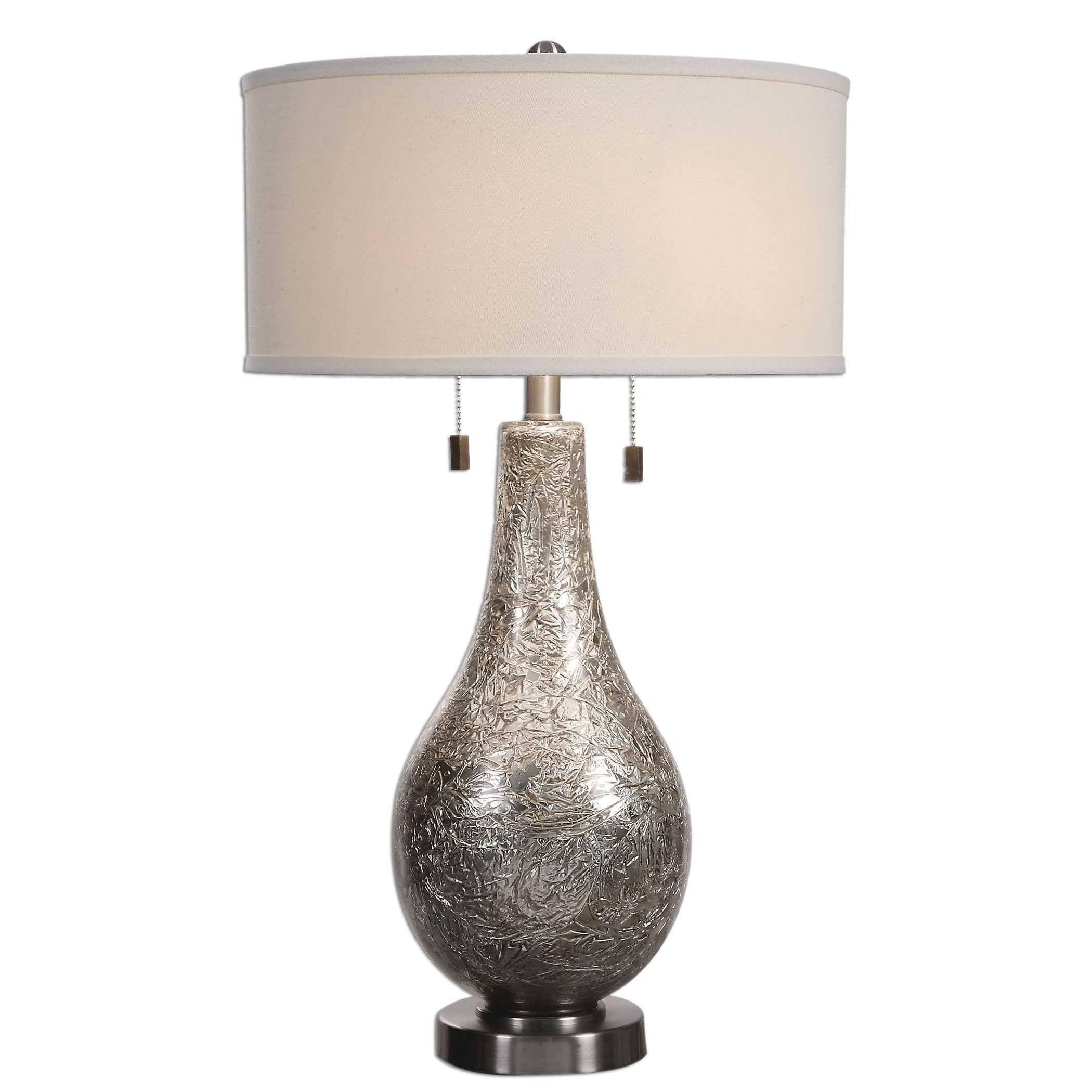 Uttermost Saracena Mercury Glass Lamp
