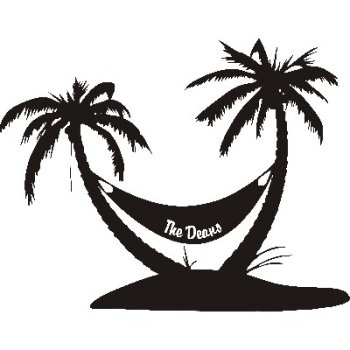 Personalized palm tree vinyl wall decal for Beautiful palm tree decal for wall