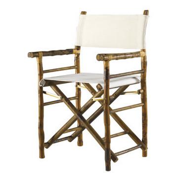 Coastal Rattan Directors Chair Set Of 2
