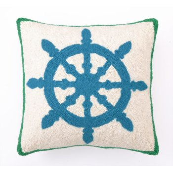 Captain's Wheel Hook Pillow