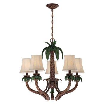 Palm tree chandelier is a truly tropical light fixture palm tree chandelier aloadofball Choice Image