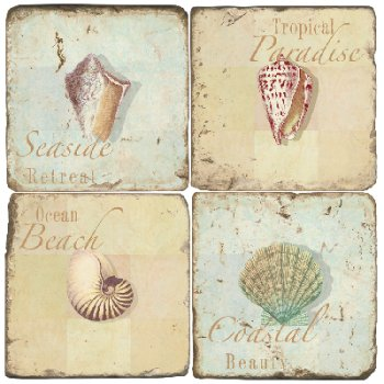 Sea Shells  Coasters
