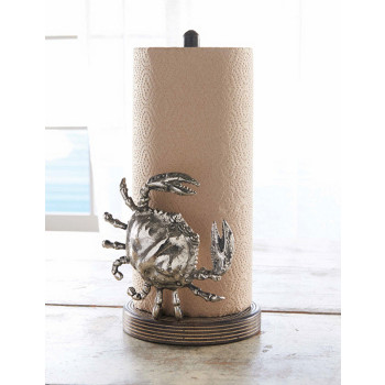 crab mango paper towel holder