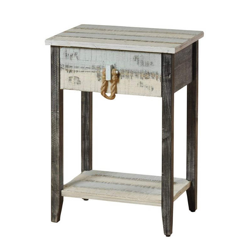 Beach House Entry Tables: Driftwood Side Table