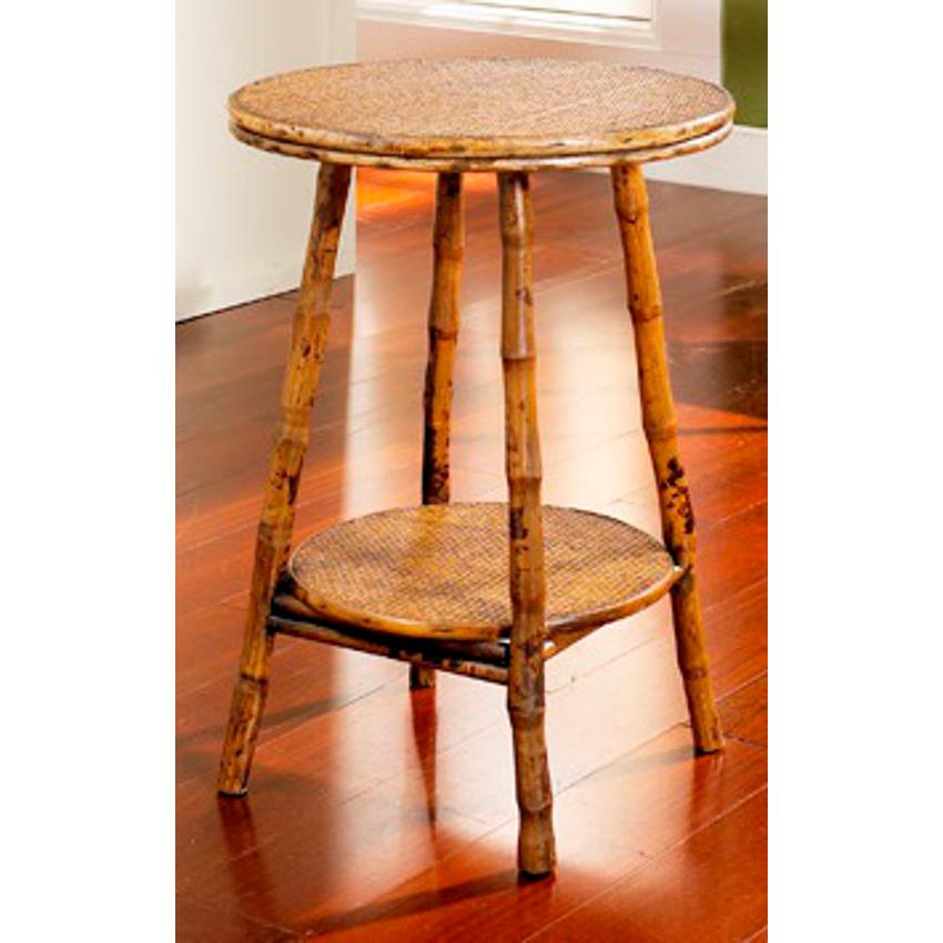 coastal rattan round table