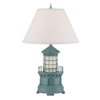 Cottage Lighthouse Lamp  (3 Colors)