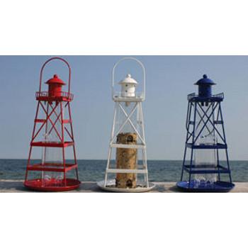 Lighthouse bird feeder beach d cor shop for International home decor llc