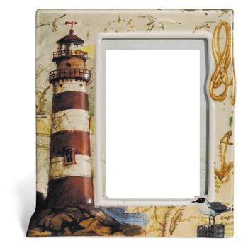 Lighthouse picture frame for Bathroom decor frames