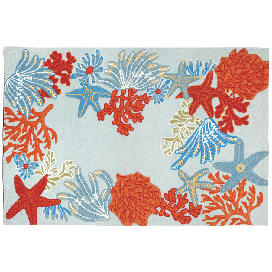 Ocean Scene Rug Indoor Outdoor