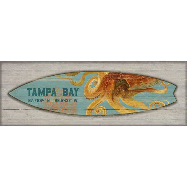 charming Surfboard Wall Art Part - 6: Beach Decor Shop