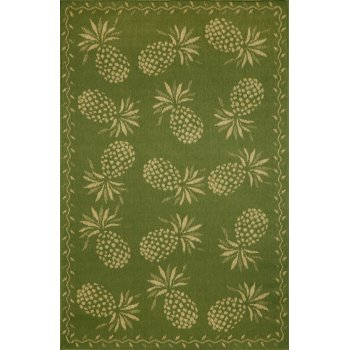 Pineapple indoor outdoor rug 5 different colors for Pineapple outdoor decor