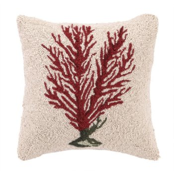 Red Coral II Hook Pillow