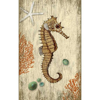 rustic seahorse wall art. Black Bedroom Furniture Sets. Home Design Ideas
