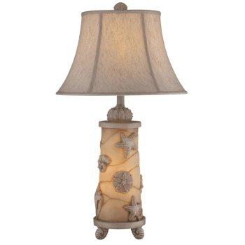 Seashell Night Light Table Lamp