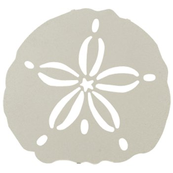 Sand Dollar Metal Wall Art