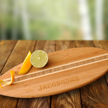 Personalized Surfboard Cutting Board