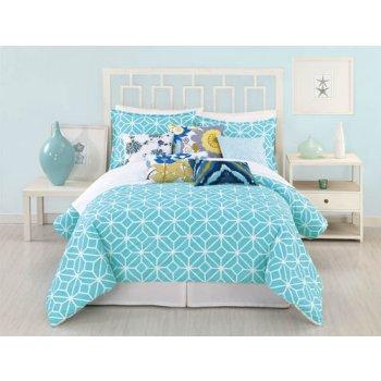 Trina Turk Trellis Turquoise Comforter Set