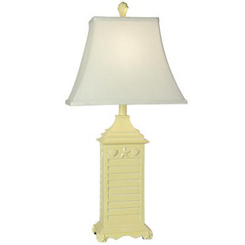 beach house yellow table lamp. Black Bedroom Furniture Sets. Home Design Ideas