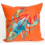 Blue Lobster Indoor Outdoor Pillow